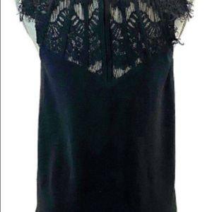 Brixon Ivy Tops - Brixon Ivy Jarred Lace detail cap sleeve blouse
